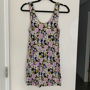Free People Floral Tank Top Dress